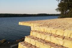 Lomljeni kamen za stepenice