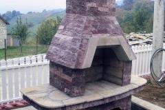 selo Struganik lomljeni kamen popločavanje