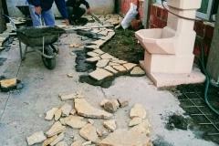 ugradnja lomljenog prirodnog kamena