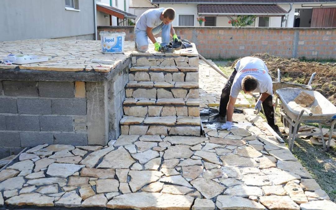 Proces ugradnje prirodnog kamena