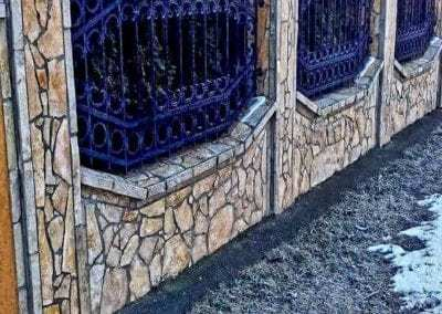 ograda od kamena kamen kojic