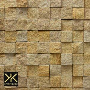 Teakwood mozaik kamen