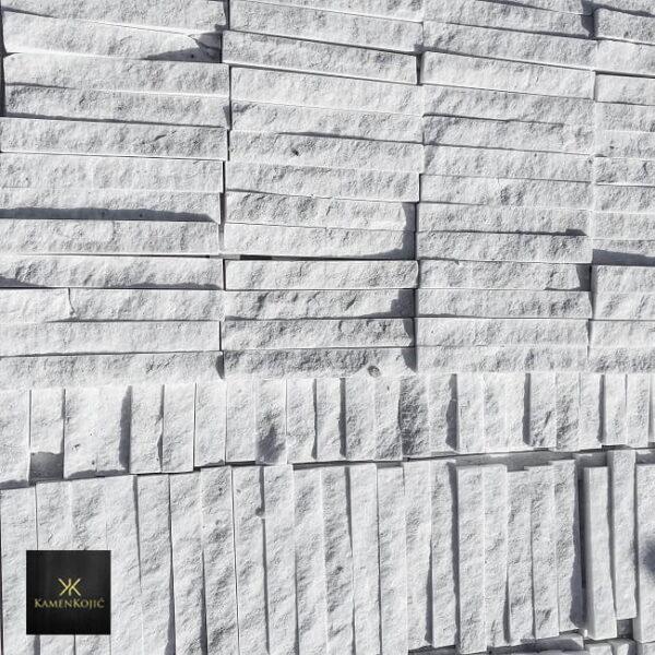 beli sečeni kamen