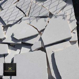 beli lomljeni kamen paleta