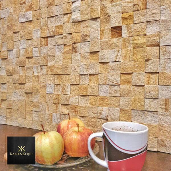 mozaik od kamena za zid
