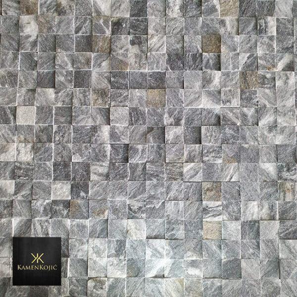 mozaik od kamena sivi za kucu i zid