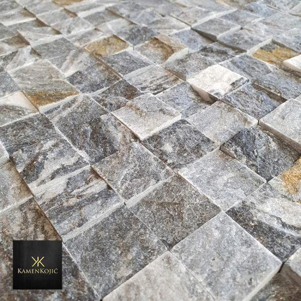 mozaik sivi kamen za kupatilo