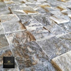 mozaik sivi kamen za zid