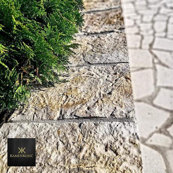 struganik sečeni kamen za podzide