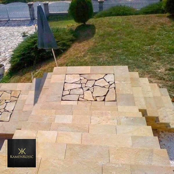 struganik sečeni kamen za stepenice