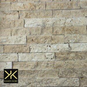 travertin braon štanglice od kamena