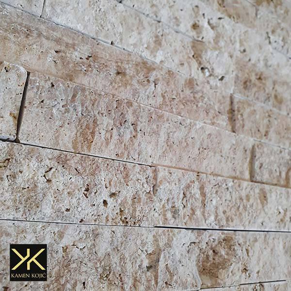 travertin kamen štanglice
