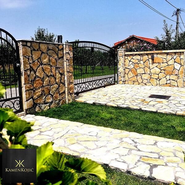 Lomljeni kamen struganik Beograd dvorište