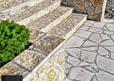 Prirodni kamen Beograd stepenice