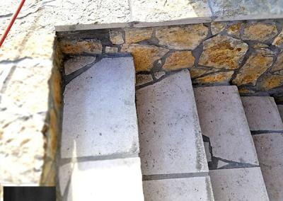 Prirodni kamen male stepenice