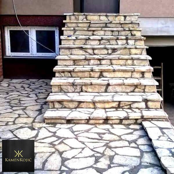 Prirodni kamen stepenice Beograd