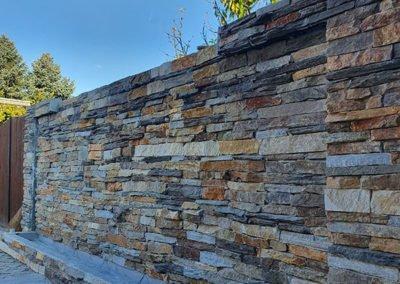 Prirodni kamen suvi zid kojic