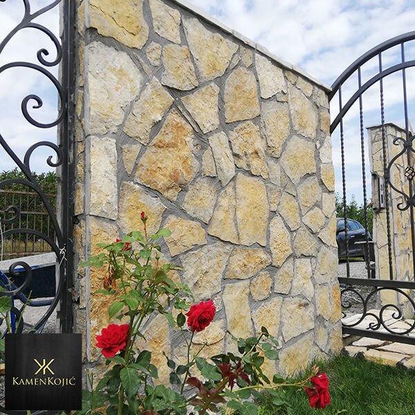 kamena ograda