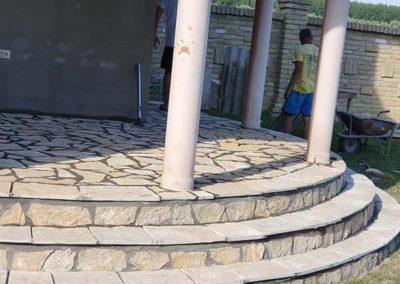 Prirodni kamen Stepenište