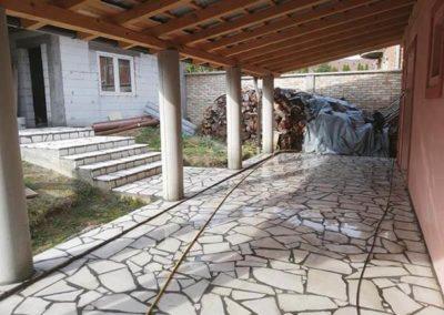 Prirodni kamen terasa