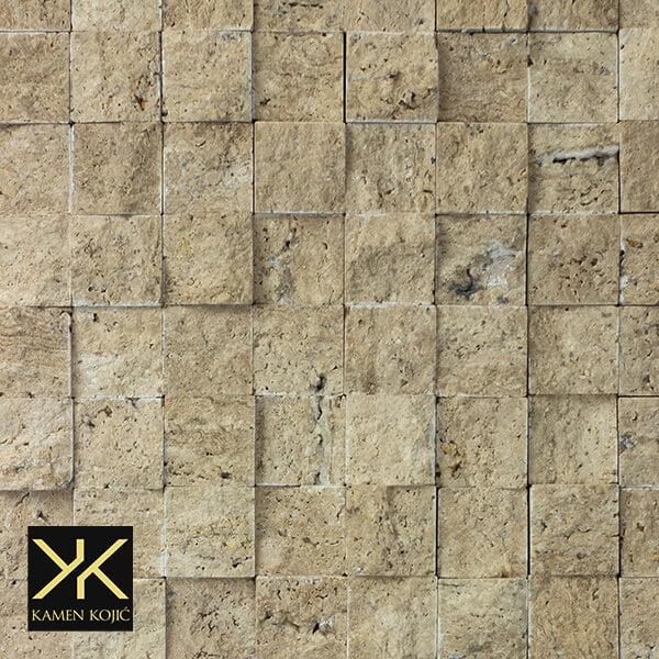 Travertin mozaik od kamena