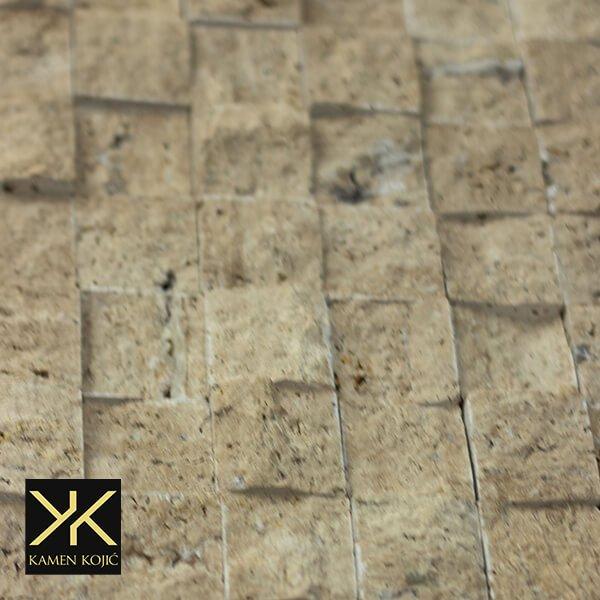 kamen mozaik travertin