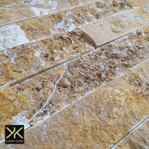 travertin žuti kamene štanglice
