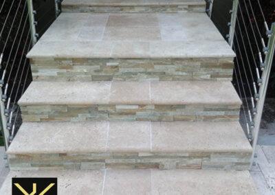 gazište za stepenice od kamena