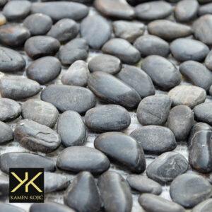 oblutak black mozaik od kamena
